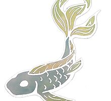 Fish Decal - No Outline by Taylor Bittner