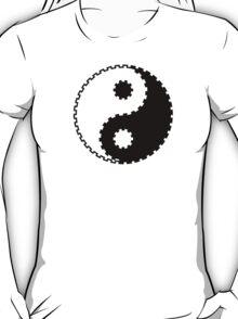 Yin and Yang - Gearwheel T-Shirt