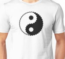 Yin and Yang - Gearwheel Unisex T-Shirt