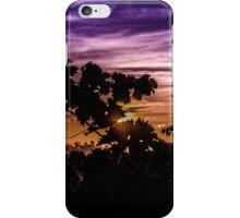 Sunset Sillouette iPhone Case/Skin