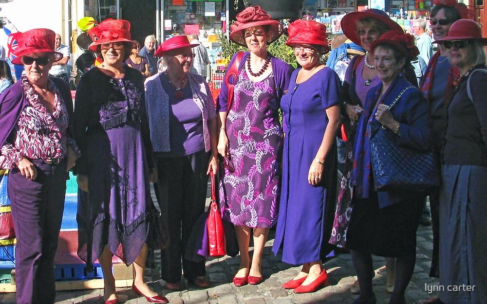 Red Hat  Society by lynn carter