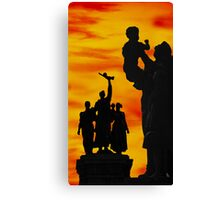 Monument to the Russian Army Canvas Print