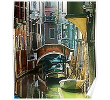 Venice - timeless perspective-particular Poster