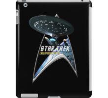 StarTrek Command Silver Signia Enterprise 1701 D  2 iPad Case/Skin
