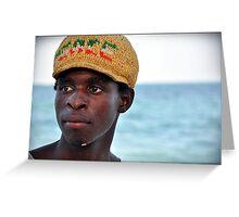 People of Zanzibar # 2 Greeting Card