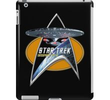 StarTrek Enterprise 1701 D Command Signia Chest iPad Case/Skin