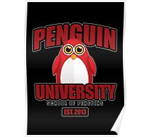 Penguin University - Red 2 Poster