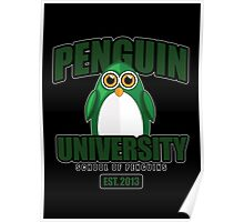 Penguin University - Green 2 Poster