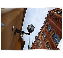 Tallin buildings, Estonia Poster