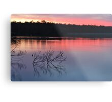 Sunset at Myall Lakes..18-9-2010 Metal Print