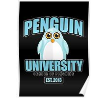 Penguin University - Blue 2 Poster