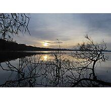 Sunrise on Myall Lakes Photographic Print