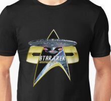 StarTrek Enterprise 1701 D Com badge 3 Unisex T-Shirt