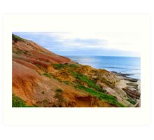 Port Noarlunga Beach Art Print