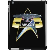 StarTrek Enterprise 1701 D Com badge 3 iPad Case/Skin