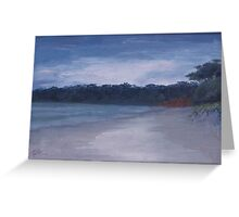 Grey sky Nelsons Greeting Card