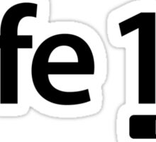 Life 1.0 (Full Version) Sticker