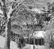 Winter Street by KirkArt