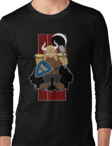 Dwarf Rabbit will rip out your spine Long Sleeve T-Shirt