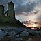 Reculver at dusk by Rhys Herbert