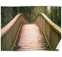 Salcey Bridge, Northamptonshire Poster