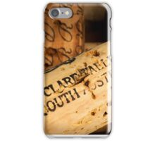 Clare Valley bottle cork iPhone Case/Skin