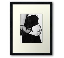 born to be .. Framed Print