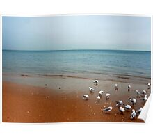 Redcliffe Beach Poster