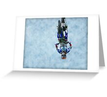 ShowTime FMX Yamaha Freestyle Greeting Card