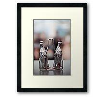 .salt & pepper. Framed Print