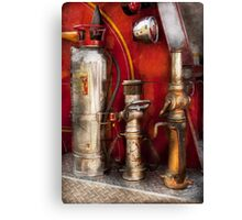 Fireman - Fighting Fires  Canvas Print