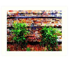 Brickworks Art Print