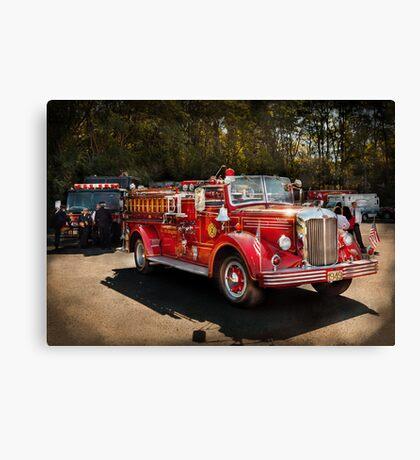Fireman - The Procession  Canvas Print
