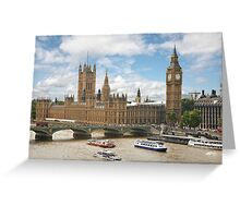 The Palace of Westminster Greeting Card