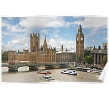 The Palace of Westminster Poster
