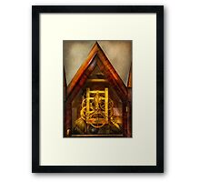Clocksmith - Clockwork  Framed Print