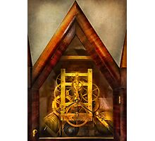 Clocksmith - Clockwork  Photographic Print