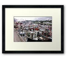 Traffic Jam - Greencastle Co. Donegal Ireland Framed Print