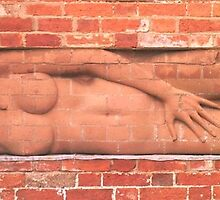 Red Brick Sculpture, Delapre, Northamptonshire by Veterisflamme