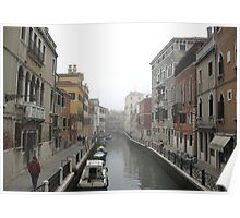 Canal Venice Poster