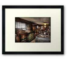 Graphic Artist - Upper & Lower Case  Framed Print