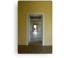 Boy in the Doorway, Kirby Hall Canvas Print