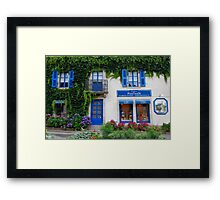 Brittany Biscuits shop in Pont-Aven Framed Print