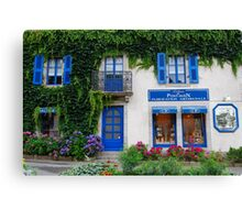 Brittany Biscuits shop in Pont-Aven Canvas Print