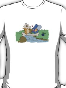 Cubone and Mudkip T-Shirt