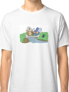 Cubone and Mudkip Classic T-Shirt