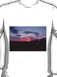 Strange sky over Grainan - Donegal Ireland  T-Shirt