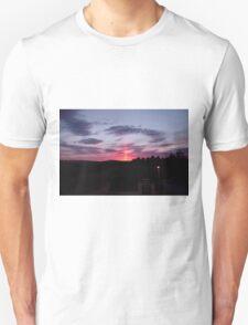 Strange sky over Grainan - Donegal Ireland  Unisex T-Shirt