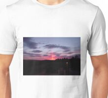 Strange sky over Grainan - Donegal Ireland  Unisex T-Shirt