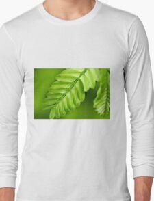 patterns of green Long Sleeve T-Shirt